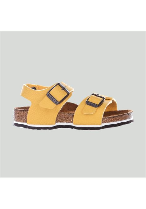 Yellow sandals with straps, baby model. Brand: Birkenstock BIRKENSTOCK | Sandal | 1015758DESERT
