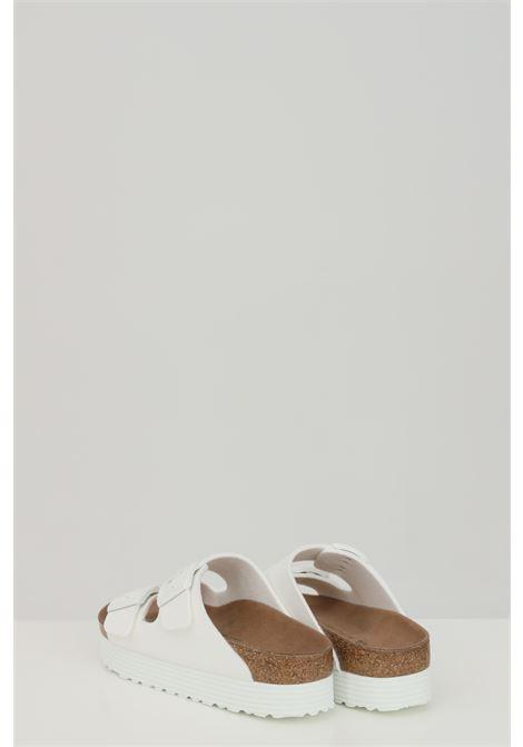 ARIZONA GROOVED WHITE slippers BIRKENSTOCK | Slipper | 1018581.