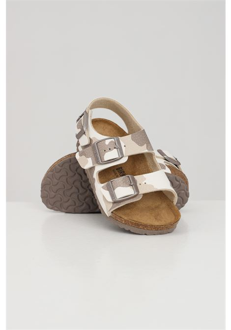Camou baby desert soil sandals birkenstock  BIRKENSTOCK | Slipper | 1019034.