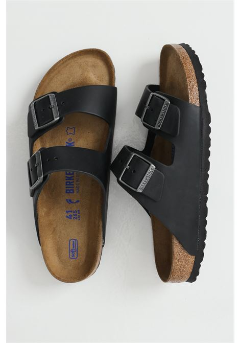 Arizona BS Black slippers with adjustable bands BIRKENSTOCK | Slipper | 752483BLACK