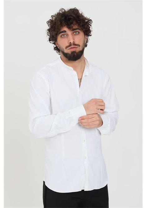 White shirt, Korean model. Brand: Brancaccio caruso BRANCACCIO CARUSO | Shirt | GURUS82001