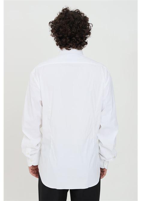 White shirt, slim model. Brand: Brancaccio Caruso BRANCACCIO CARUSO | Shirt | LAPOS080001