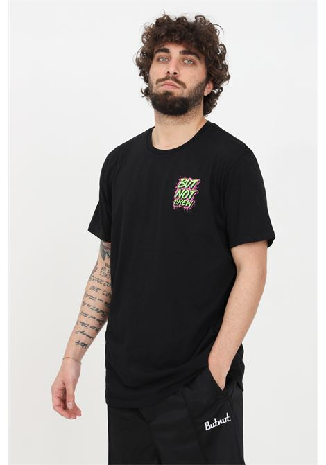 Black t-shirt short sleeve but not  BUT NOT | T-shirt | U901-276NERO