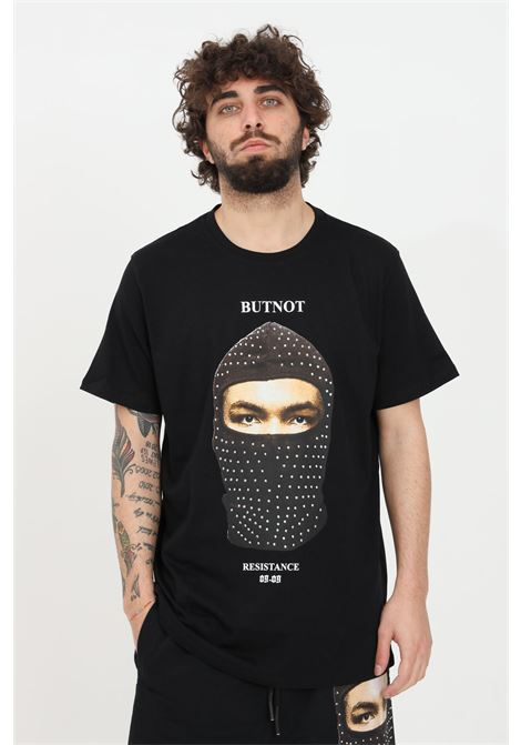 Black t-shirt short sleeve but not BUT NOT | T-shirt | U901-291NERO