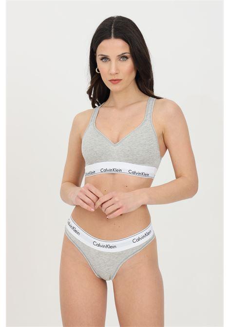 Brassiere modern cotton solid color  CALVIN KLEIN | Bralette | 000QF1654E020