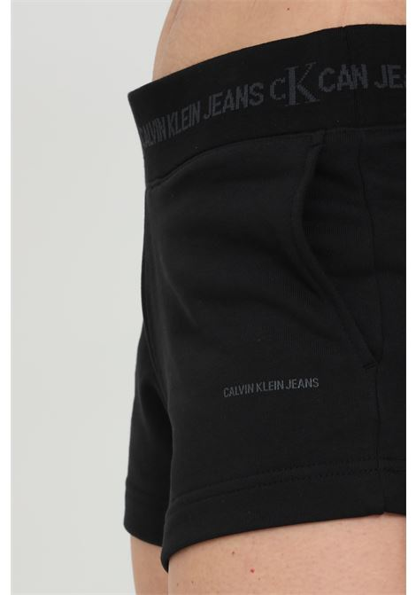 Shorts with elastic waistband with logo CALVIN KLEIN | Shorts | J20J215561BEH
