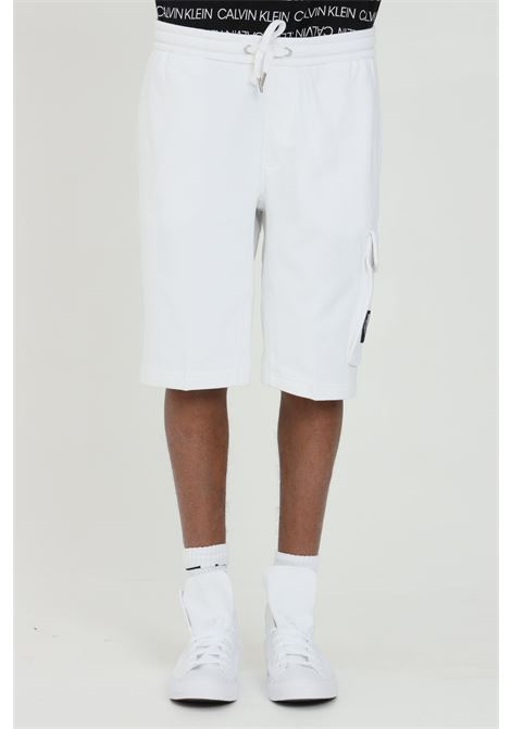 Shorts in organic cotton CALVIN KLEIN | Shorts | J30J314676YAF