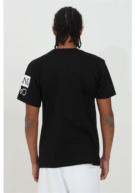 Crew neck t-shirt with front print CALVIN KLEIN | T-shirt | J30J317086BEH