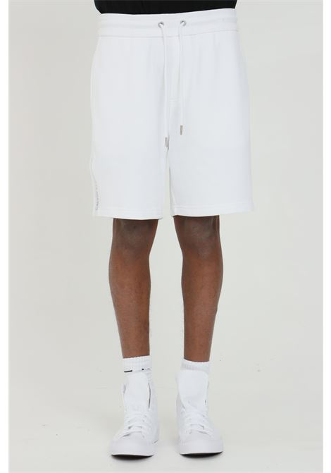 Shorts in organic cotton with side logo CALVIN KLEIN | Shorts | J30J317377YAF