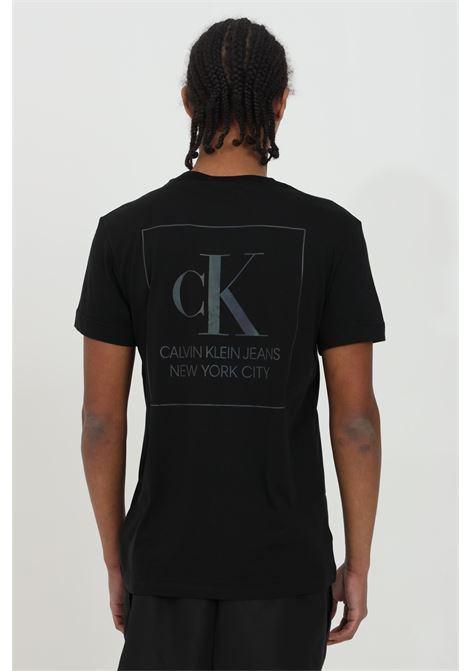 Crew neck T-shirt with logo on the front CALVIN KLEIN | T-shirt | J30J317492BEH