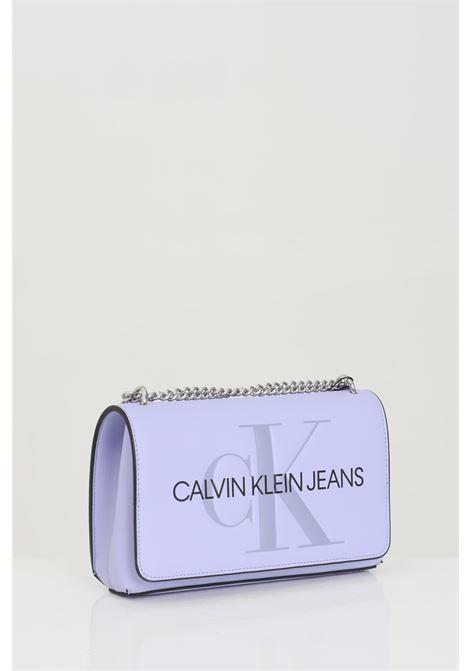 Bag with shoulder strap and clip closure CALVIN KLEIN | Bag | K60K607463V0K