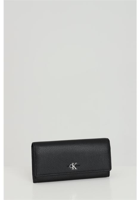 Woman wallet, black. Brand: Calvin klein CALVIN KLEIN | Wallet | K60K608012BDS