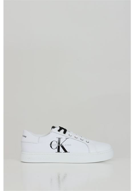 Sneakers laceup bds. White.  CALVIN KLEIN | Sneakers | YM0YM00029YAF