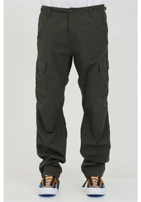 Aviation cargo pants in solid color CARHARTT | Pants | I009578.3263.02