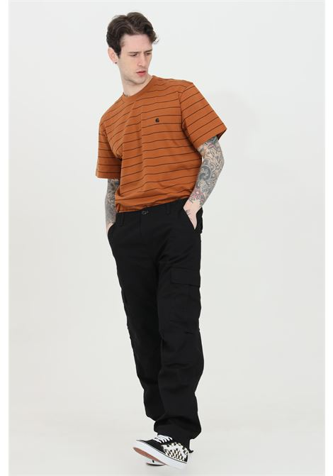 Aviation cargo pants in solid color CARHARTT | Pants | I009578.3289.02