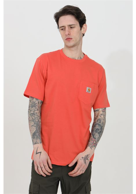 Basic T-shirt with front pocket CARHARTT | T-shirt | I022091.030AO.00