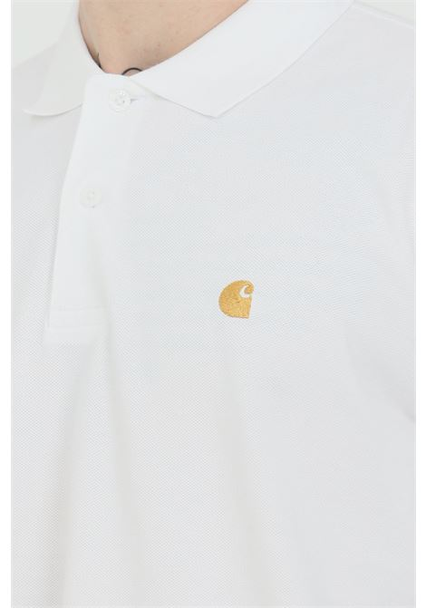 Polo shirt with embroidered logo and regular collar CARHARTT | Polo Shirt | I023807.0302.90