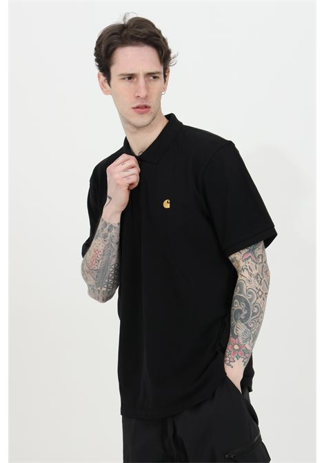 Polo shirt with embroidered logo and regular collar CARHARTT | Polo Shirt | I023807.0389.90