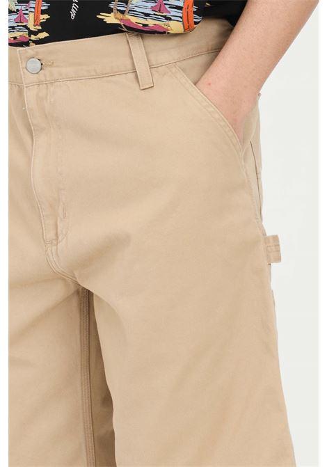 Shorts uomo beige carhartt casual CARHARTT | Shorts | I024892.0007E.06
