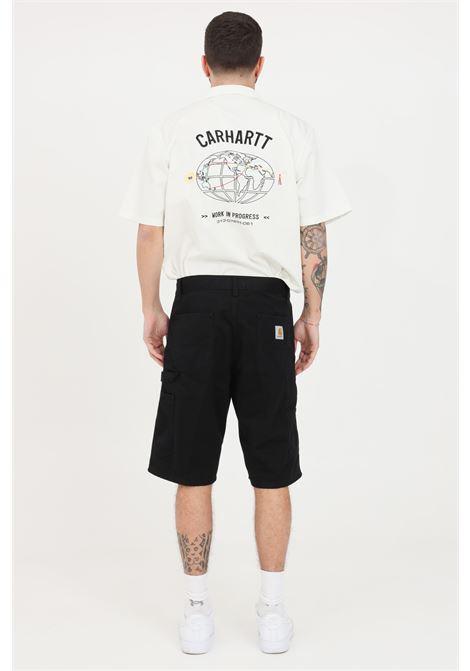 Shorts uomo nero carhartt casual CARHARTT | Shorts | I024892.0089.06