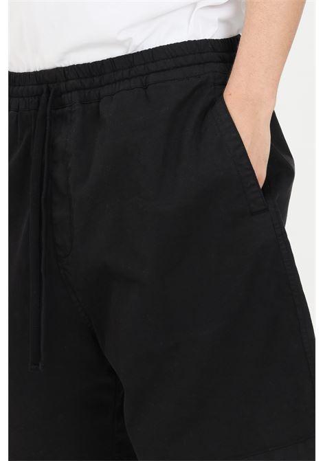 Shorts uomo nero carhartt casual modello over CARHARTT | Shorts | I026518.0389.GD