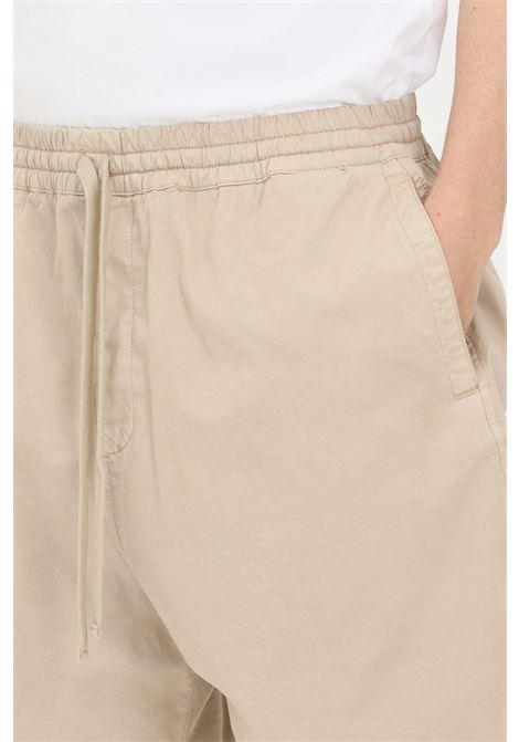 Beige casual shorts, over size model. Carhartt  CARHARTT | Shorts | I026518.03G1.GD
