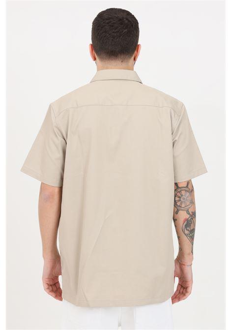 Camicia S/S master uomo beige carhartt casual CARHARTT | Camicie | I027580.03G1.00