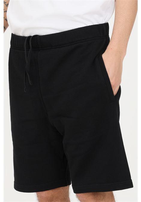 Shorts uomo nero carhartt casual con elastico in vita CARHARTT | Shorts | I027698.0389.00