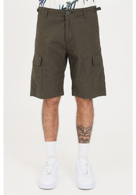 Shorts uomo cipresso carhartt casual modello cargo CARHARTT | Shorts | I028245.0063.02