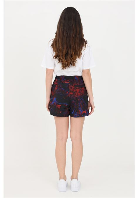 Shorts donna multicolor carhartt casual con stampa allover CARHARTT | Shorts | I028766.030BV.00