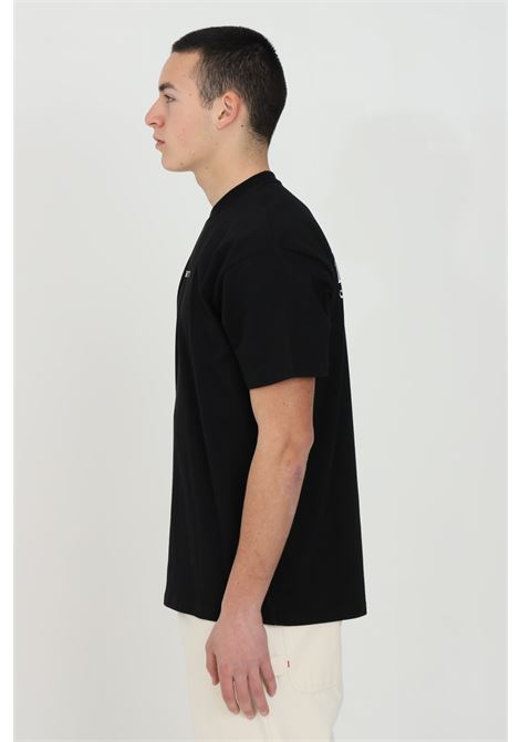 Black S/S Panic t-shirt with front logo and back print, short sleeve. Carhartt  CARHARTT | T-shirt | I029035.0389.90