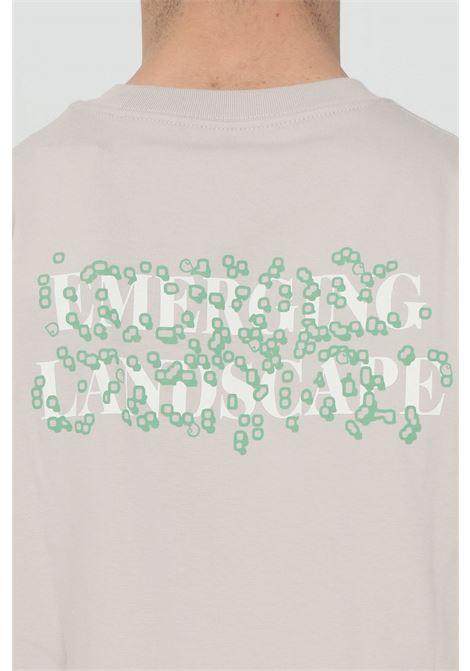 Beige long sleeve landscape t-shirt with graphic print, long sleeve. Carhartt  CARHARTT | T-shirt | I029060.030AA.00