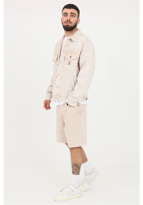 Shorts uomo beige carhartt casual CARHARTT | Shorts | I029149.0007E.WD