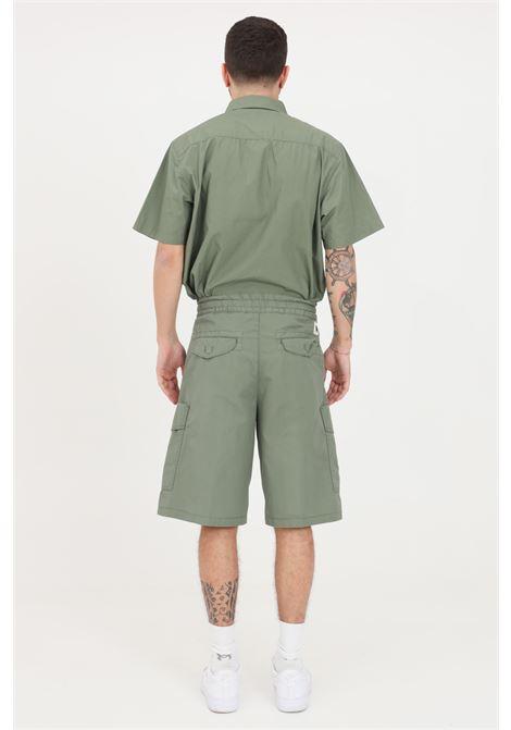 Green denver shorts, high waist model. Carhartt CARHARTT | Shorts | I029163.03667.06
