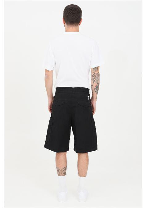 Black denver shorts, high waist model. Carhartt CARHARTT | Shorts | I029163.0389.06