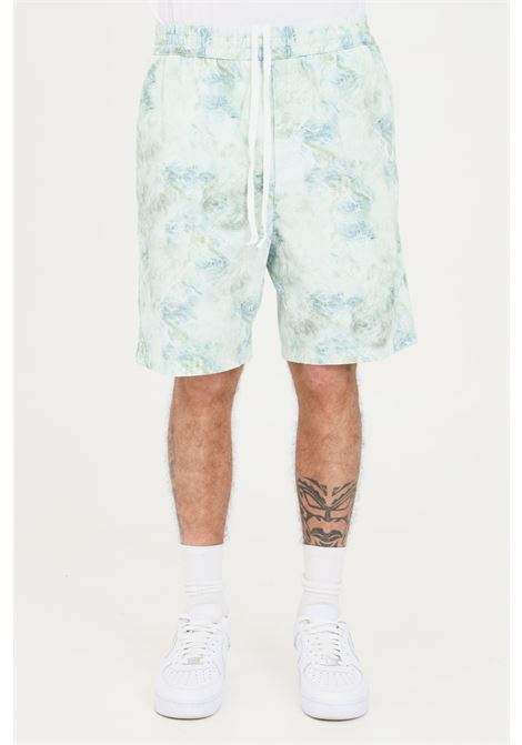 Casual shorts with marble print. Carhartt  CARHARTT | Shorts | I029167.03.0DD.0603