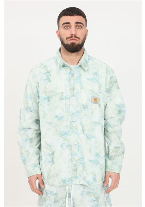 Camicia marble uomo fantasia carhartt casual CARHARTT | Camicie | I029168.030DD.06