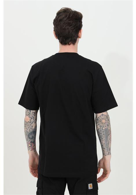 Black wip script t-shirt with contrasting logo on the front, short sleeve, regular fit. Carhartt CARHARTT | T-shirt | I029915.0389.90