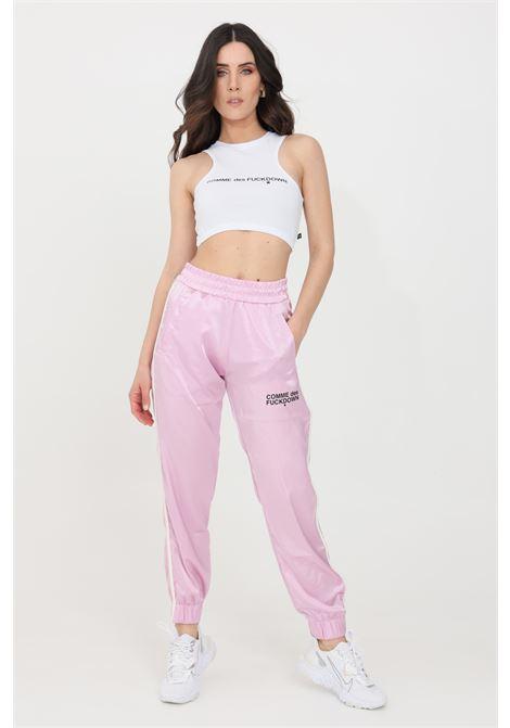 Pantaloni donna rosa comme des fuckdown causal COMME DES FUCKDOWN | Pantaloni | CDFD1461ROSA