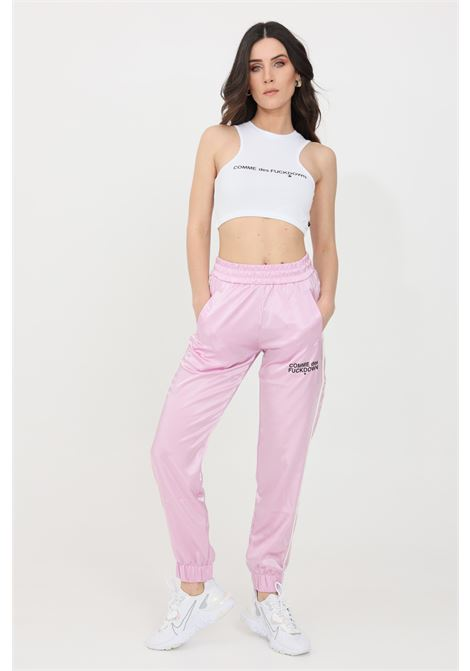 Pink casual trousers comme des fuckdown COMME DES FUCKDOWN | Pants | CDFD1461ROSA