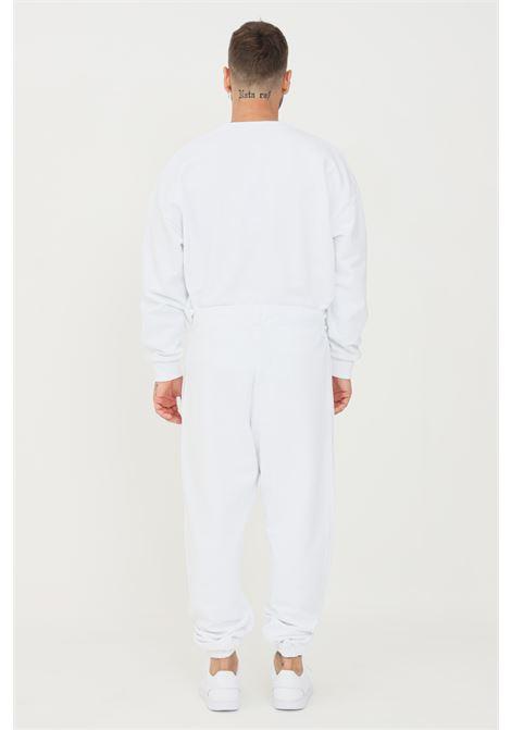 White unisex sweatpants by comme des fuckdown COMME DES FUCKDOWN | Pants | CDFU1103BIANCO