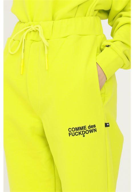 Lime unisex sweatpants by comme des fuckdown COMME DES FUCKDOWN | Pants | CDFU1103LIME