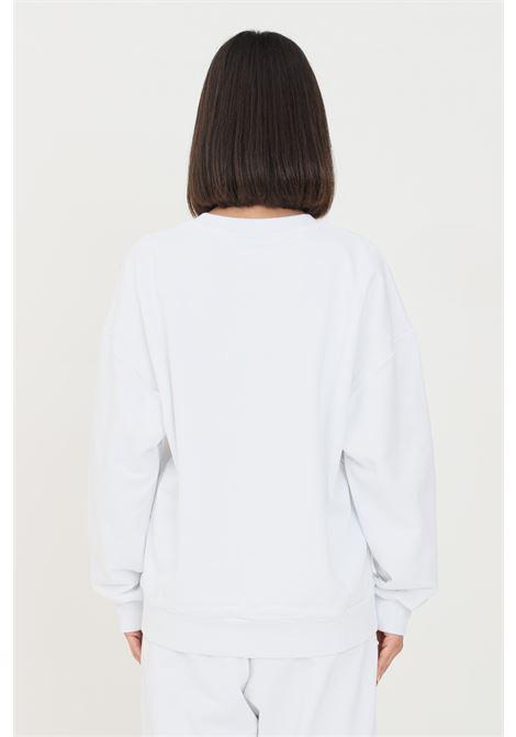 White unisex sweatshirt by comme des fuckdown, crew neck COMME DES FUCKDOWN | Sweatshirt | CDFU1104BIANCO