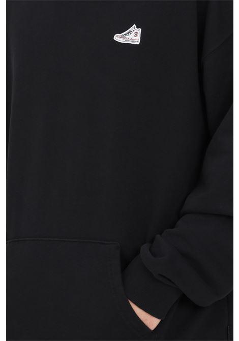 Black hoodie. Converse CONVERSE | Sweatshirt | 10022662-A02A02