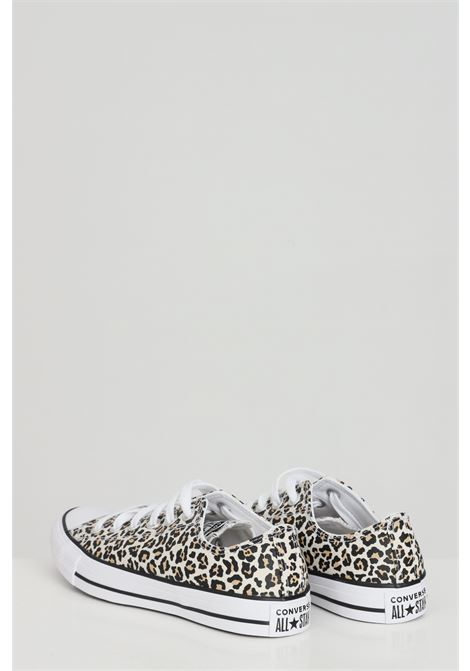 Leopard chuck taylor all star sneakers with allover animal print, rubber sole and round toe, closure with laces. Converse   CONVERSE | Sneakers | 166260C.