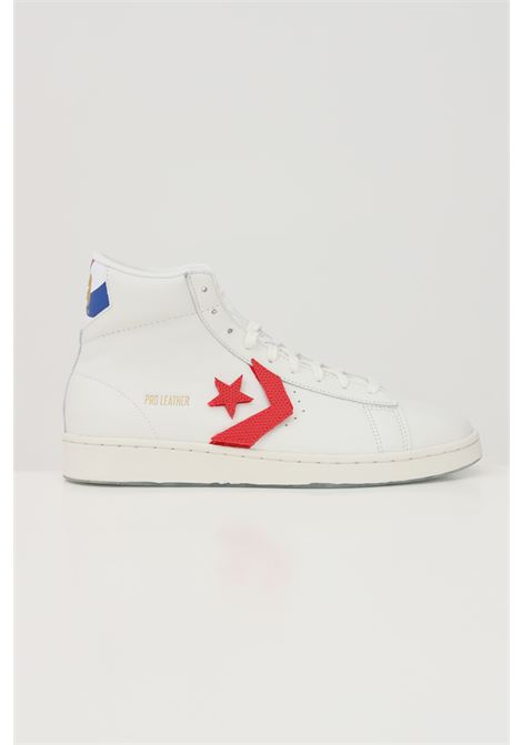White pro leather sneakers with star logo in contrast. Converse  CONVERSE | Sneakers | 170240C876