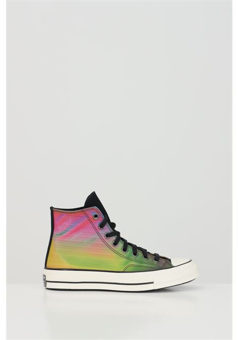 Multicolor All Star Chuck 70 High Top sneakers with rubber sole and round toe, closure with laces. Boot model. Converse  CONVERSE | Sneakers | 170495C848