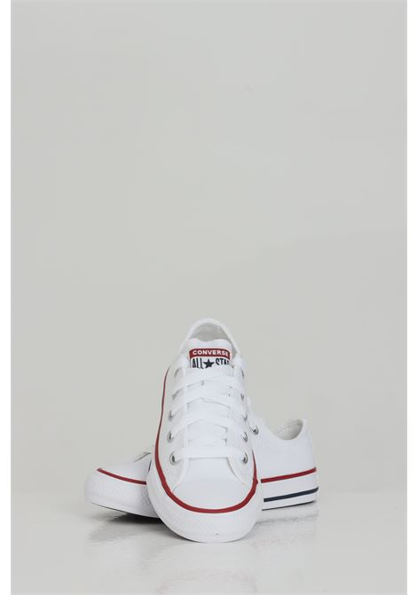 White sneakers with low cut. Baby model. Brand: Converse CONVERSE | Sneakers | 3J256C.