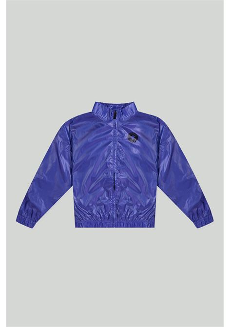 Blue-violet jacket with mini logo on the front. Baby model. Brand: Converse CONVERSE | Jacket | 4CA832H40