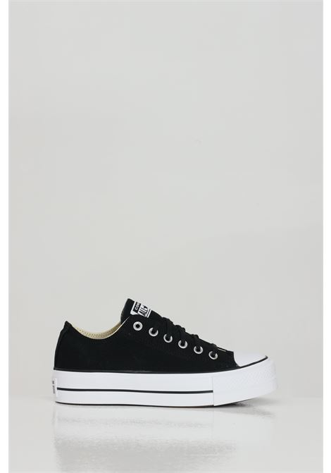 Black women's chuck taylor all star platform canvas low top sneakers converse CONVERSE   Sneakers   560250C.